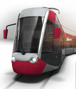 Three-section low-floor tram from Alstom & Transmashholding(TMH)